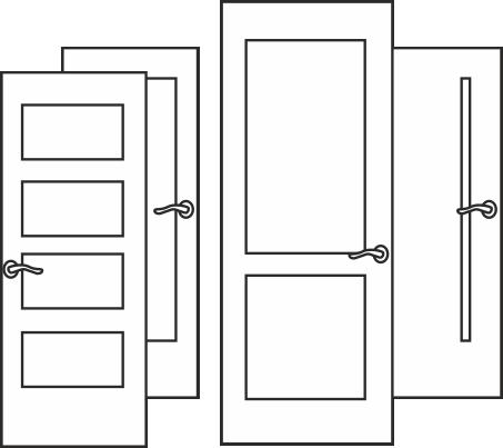 материал для дверей